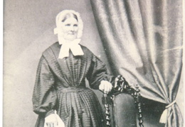 Mary Everitt, servant at Barwick House, ? c 1865