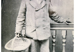 William Everitt, gardener at Barwick House, c 1865