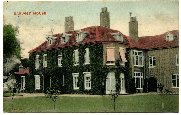 Barwick House, before 1908