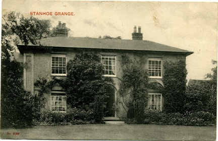 The Grange, postcard posted 1905. Loaned JW