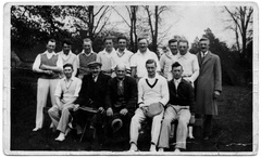 Stanhoe cricket team, 1930s