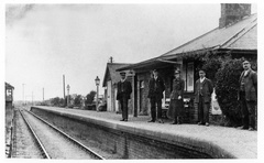 Sedgeford railway station, 1930s