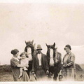 Bloy family at Barwick Hall Farm, 1930