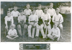 Stanhoe School cricket team, 1937