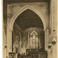 All Saints' church, 1940s