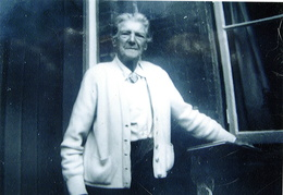 Mrs Hattie Brown aged 96, 1950s