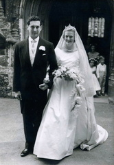 Marriage of Roddy Ralli and Amanda Hoare, 1958