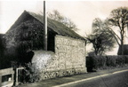 Barn used as a chapel by the Primitive Methodists up to 1892. Door and window blocked when it reverted to use by the landowner. Now garage of Southgate House. Photo c 1980.