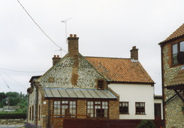 Pair of renovated cottages, Cross Lane, 1997