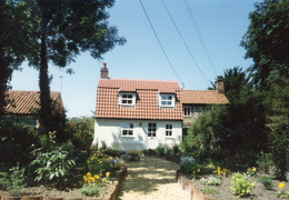 Northgate Cottage, Docking Road, after renovation, 1995