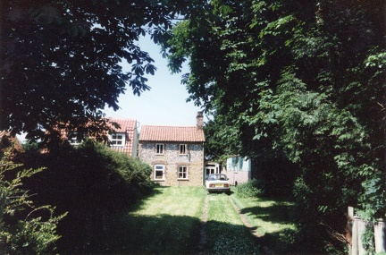Moray Cottage next to Northgate cottage, Docking Road, 1995