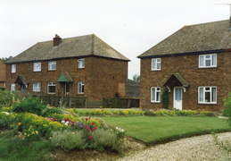 Houses in Station Road, 1997