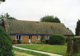 Last bungalow in Station Road, 1997