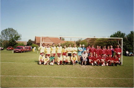 """Dads and lads"" football match 1992"