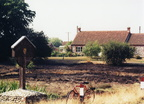 Stanhoe Pit, dried out in summer 1995