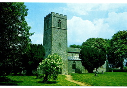 Stanhoe All Saints. Card purchased Stanhoe post office shop 1999. Loaned JW