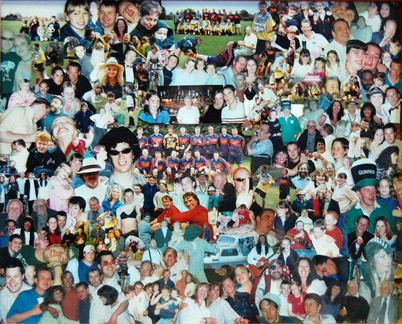 Photomontage of Stanhoe people