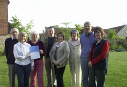 Archive Group with lottery grant certificate 20 May 2008