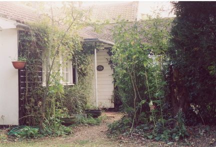 The Bungalow, Church Lane, 2003 before demolition.