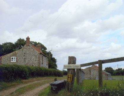 Blacksmith's Cottage, Church Lane, 2007
