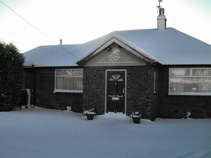 "Snow, 14 March 2005: ""Arline"", Burnham Road"