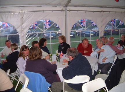 Hog roast for Elizabeth II's golden jubilee, 14 June 2002