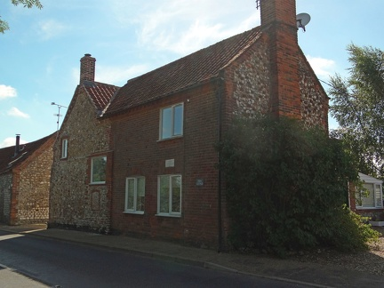 Fern Cottage, Docking Road, on the market summer 2011 for £299,000.