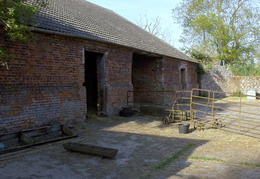 2011- The stable yard at Station Farm, Stanhoe.