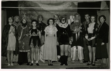 Pantomime: Beauty and the Beast, 1949