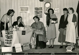 WI, Play 'A Pennyworth of String' acted by members in 1949..