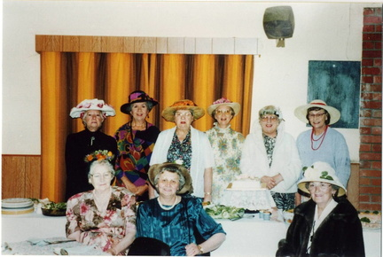 Stanhoe & Barwick WI members at the Institute's 75th anniversary, 1994