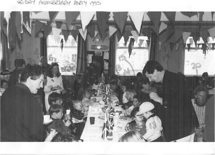 VE Day anniversary children's party 1995