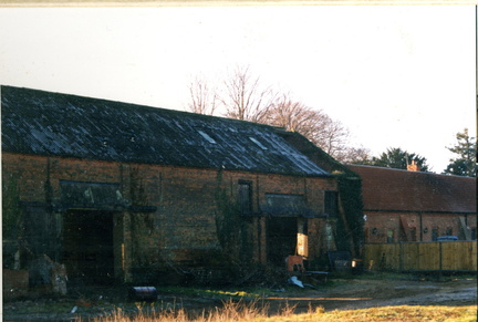 Grange Barns during conversion