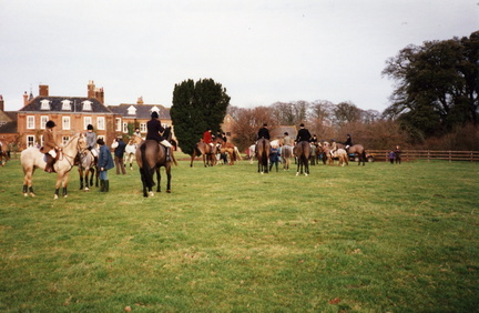 The hunt outside Barwick House