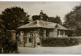 The Lodge, Stanhoe Hall. Postcard, Raphael Tuck & Sons