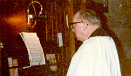 Reginald Chilvers, organist