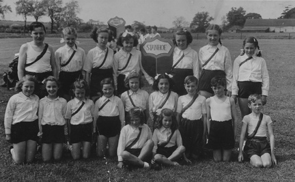 Stanhoe sports team, around 1950