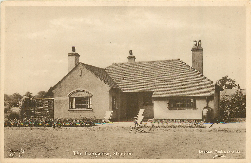 The Bungalow (now Three Chimneys), Stanhoe (postcard), 1950