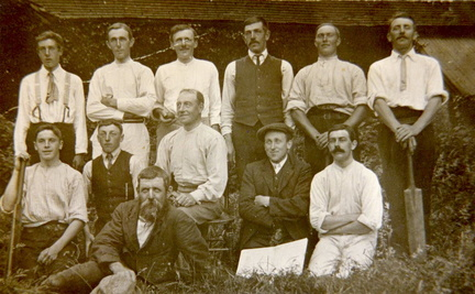 Cricket team c 1912