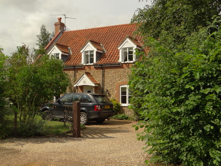 Field House Church Lane on the market autumn 2012 for £425K