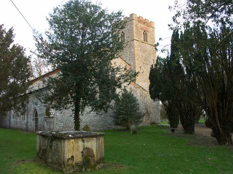 All Saint's Church from the west