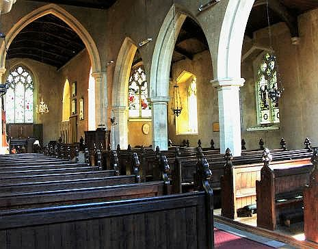 All Saint's Church interior
