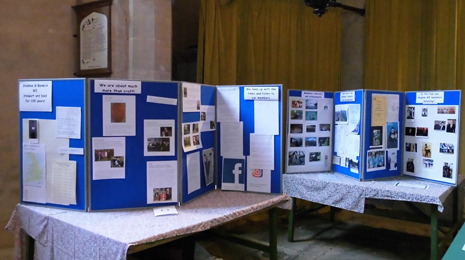 WI crafts and history on display in the church
